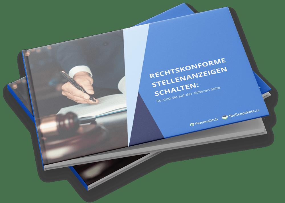 eBook – Rechtskonforme Stellenanzeigen schalten: So sind Sie auf der sicheren Seite